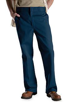 Dickies® Original Work Flat Front Non-Iron Pants