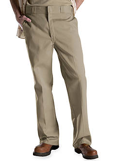 Dickies Original Work Flat Front Non-Iron Pants