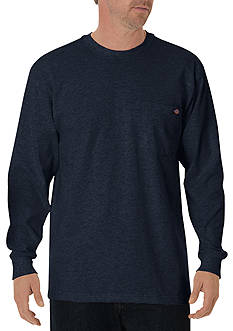 Dickies® Long Sleeve Heavyweight Crew Neck T-Shirt