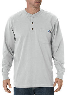Dickies® Long Sleeve Heavyweight Henley