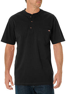 Dickies® Short Sleeve Heavyweight Henley Shirt