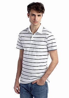 Red Camel® Dry Pocket Polo Stripe Shirt