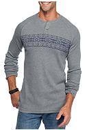 Red Camel® Fairisle Chest Thermal T-Shirt