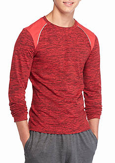 Red Camel Long Sleeve Raglan Tech Tee