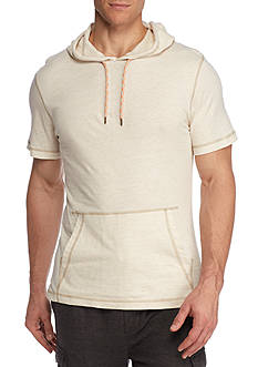 Red Camel Short Sleeve Injected Hoodie
