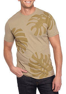 Red Camel® Short Sleeve Palm Leaf Graphic Tee