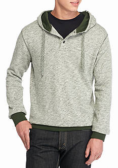 Red Camel Snow Henley Hoodie