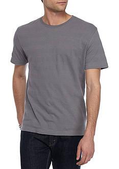 Red Camel Short Sleeve Textured Stripe Tee Shirt