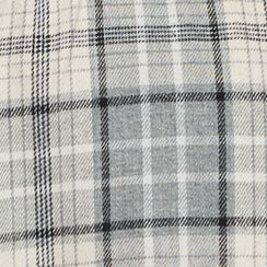 Young Men: Check & Plaid Sale: Black/Ivory Red Camel Long Sleeve Flannel Woven Shirt