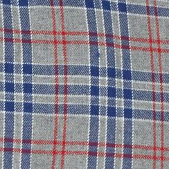 Young Men: Check & Plaid Sale: Gray/Blue/Red Red Camel Long Sleeve Flannel Woven Shirt