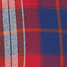 Young Men: Check & Plaid Sale: Red/Blue Red Camel Long Sleeve Flannel Woven Shirt