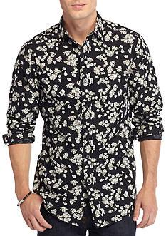 Red Camel Long Sleeve Single Pocket Floral Shirt