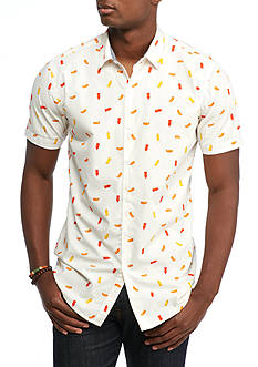 Red Camel BBQ Ready Short Sleeve Woven Button Down Shirt