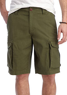 Red Camel Stretch Fit Ripstop Shorts