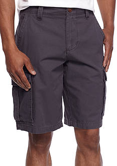 Red Camel Utility Cargo Shorts