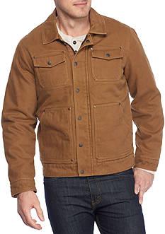 G.H. Bass & Co. Laydown Collar 2-Pocket Trucker Jacket
