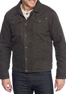 G.H. Bass & Co. Laydown Collar 2-Pocket Trucker Jacket