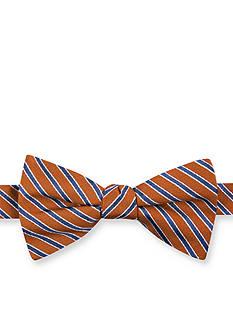 Tommy Hilfiger Pre-Tied Stripe Bow Tie