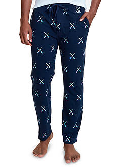 Nautica Oar Print Knit Lounge Pants