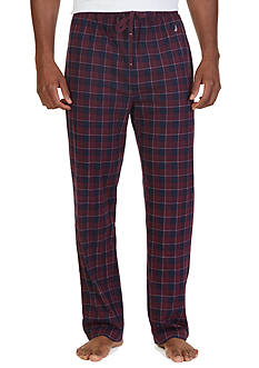 Nautica Lightweight Plaid Lounge Pants