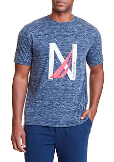 Nautica Short Sleeve Graphic Tee Shirt