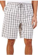 Nautica Plaid Lounge Shorts