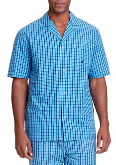 Nautica Plaid Sleep Shirt