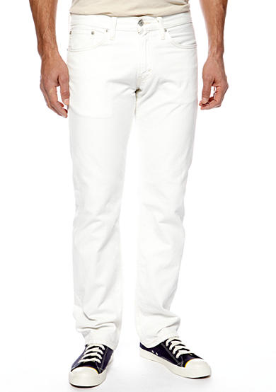 Levi's® 514 Straight Fit White Twill