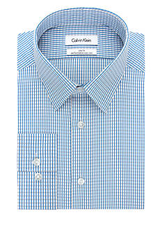 Calvin Klein Slim Fit Dobby Dress Shirt