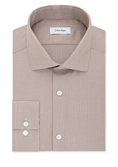 Calvin Klein Non Iron Performance Slim Fit Dress Shirt