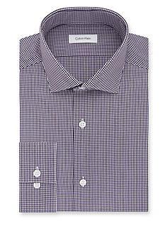 Calvin Klein Steel Non Iron Performance Slim-Fit Dress Shirt
