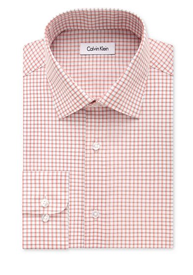 Calvin Klein Big & Tall Steel Non-Iron Performance Dress Shirt