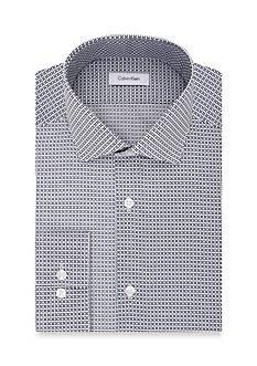 Calvin Klein Steel Non Iron Performance Slim Fit Dress Shirt