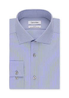 Calvin Klein Men's Big & Tall Steel Non Iron Performance Dress Shirt