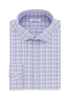 Calvin Klein Steel Non Iron Performance Slim Fit Dress Shirt