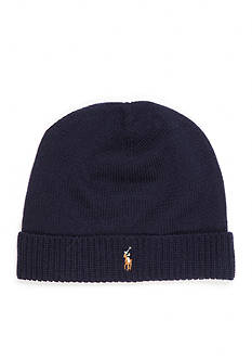 Polo Ralph Lauren Classic Lux Merino Cuff Knit Hat