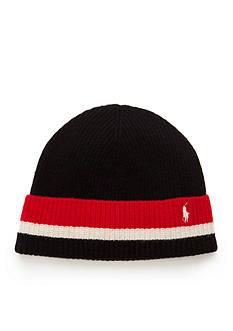 Polo Ralph Lauren Knitted School Stripe Hat