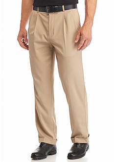 Pro Tour® Pleated Comfort Stretch Tech Pants