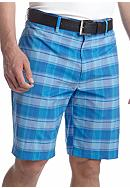 Pro Tour® Big & Tall Plaid Tech Shorts