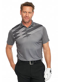 Pro Tour Short Sleeve Airplay Birdseye Print Polo Shirt