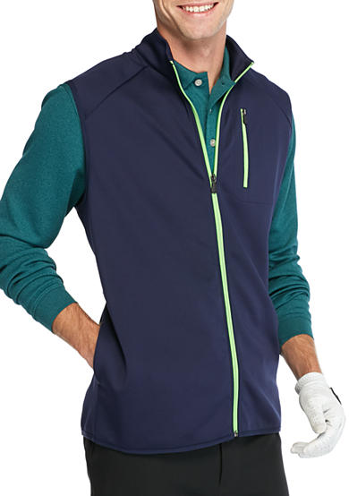 Pro Tour® Full Zip Vest With Chest Pocket