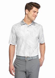 Pro Tour Short Sleeve Trop Print Polo Shirt