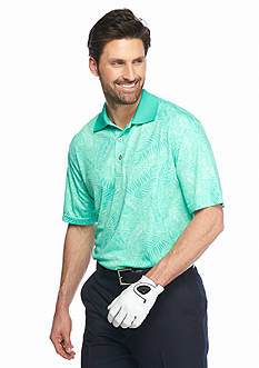 Pro Tour Short Sleeve Trop Print Polo Shirt