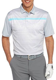 Pro Tour Short Sleeve Airplay Print Polo Shirt