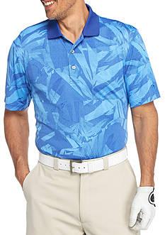 Pro Tour Short Sleeve Tech Tropical Print Polo Shirt