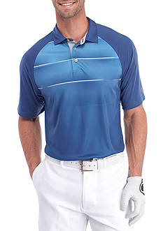 Pro Tour® Short Sleeve Engineered Energy Grad Stripe Polo Shirt