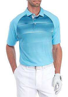 Pro Tour Short Sleeve Engineered Energy Grad Stripe Polo Shirt