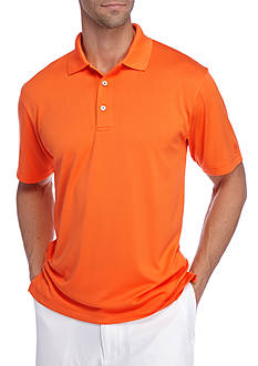 Pro Tour Short Sleeve Airplay Solid Polo Shirt