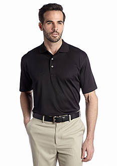 Pro Tour® Short Sleeve Solid Textured Polo