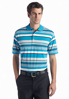 Pro Tour® Short Sleeve Heather Stripe Polo